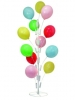 BALLOON FLOOR STAND SMALL WHITE display