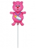 Bottle Bear Fuchsia Mini