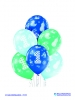 Balon latex D11 1st Birthday Boy 6 komada