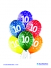 Balon latex D11 10th Birthday 6 komada