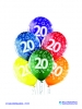 Balon latex D11 20th Birthday 6 komada