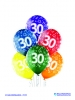 Balon latex D11 30th Birthday 6 komada