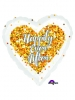 17C Confetti Wedding Heart S40